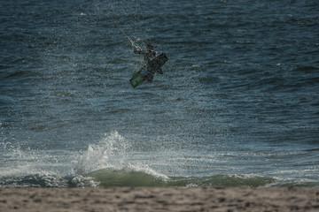 Kitesurf Jump