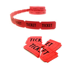 Red Tickets for Admission