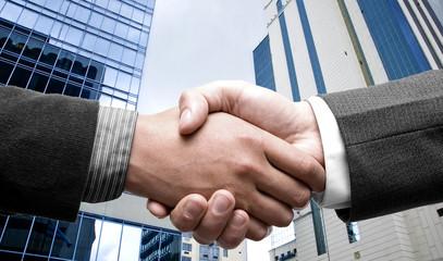 e-commerce hand shake