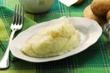 Mashed potatoes Puré de papas