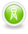 """Light Green Icon """"Lookout Tower"""""""