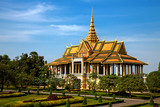 Royal Palace in Phnom Pehn, Cambodia