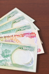Sixty five thousand Iraki Dinars