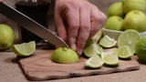 Cutting some limes