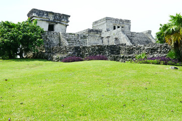Old Ruins at Tulum Mexico