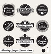 Vector Set: Bowling League Cha...