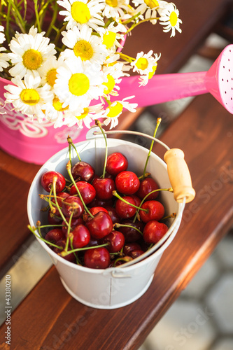 Cherries outdoor