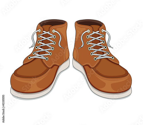 Boots vector