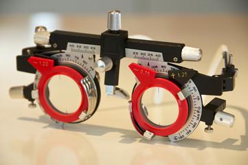 Optiker Messbrille