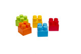 Lego plastic toy blocks poster