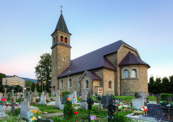 Nice Catholic Church in Europe - Babin - Orava - Slovakia