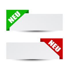 NEU Banners zum Beschriften