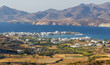 View of Pollonia village, Milos island, Cyclades, Greece