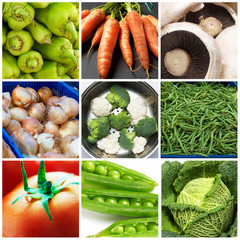Vegetables selection composite