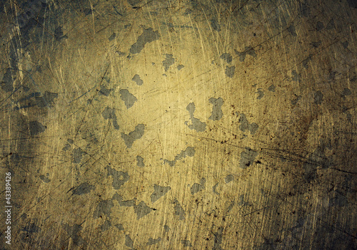 Scratched and chipped metal texture