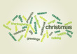 CHRISTMAS. Word collage