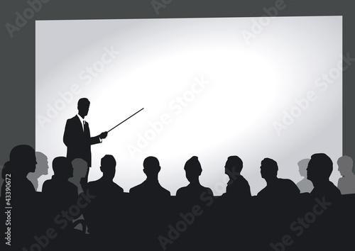 Präsentation im Auditorium
