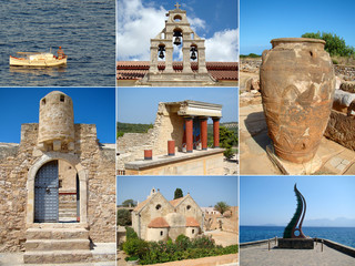 Collage of Crete