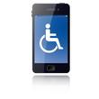 Smartphone-Bedienung - barrierefrei