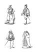 4 Costumes - Renaissance