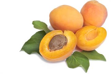 Aprikosen Freisteller