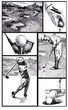 Golf - winning story, comics