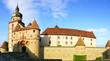 Schloss Marienburg. Wurzburg,  Germany