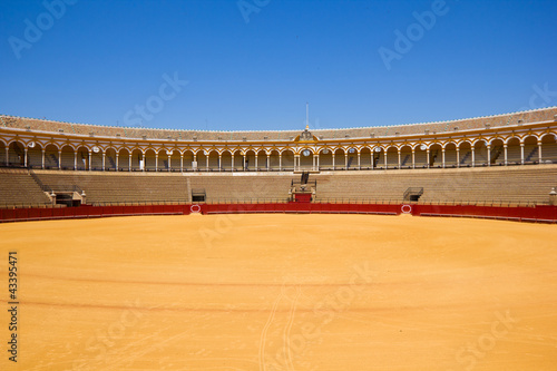 bullfight arena,  Sevilla, Spain