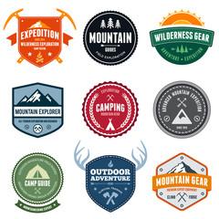 Mountain badges