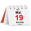 Kalender - 19.05.2013 - Pfingsten