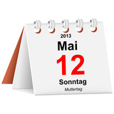 Kalender - 12.05.2013 - Muttertag