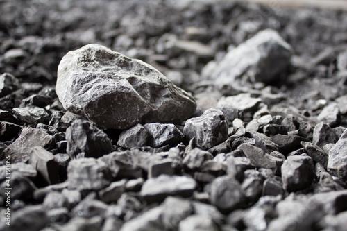 Leinwandbild Motiv fossiler Brennstoff