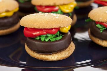 Hamburger Cookie Treats