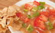 Salsa And Tortilla Chips