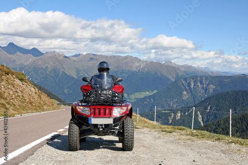 Mit dem Quad über die Alpen