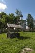 Деревянный колодец в Русской деревне