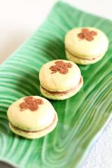 Mint French Macaron