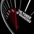 The Power of Branding Speedometer Measuring Loyalty