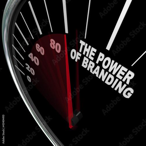 The Power of Branding Speedometer Measuring Loyalty
