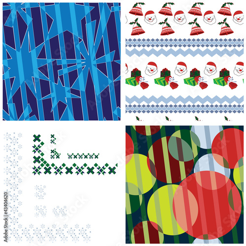 Festive patterns and borders set