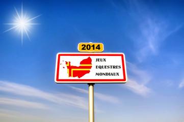 2014 Normandie - Jeux équestres mondiaux