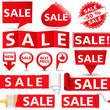 Red Sale Banners