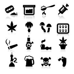 Drugs icons