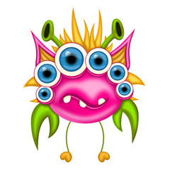 Monster for Halloween or other events