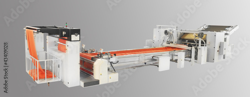 FABRIC CUTTING, SQUEEZING AND SLITTING MACHINE
