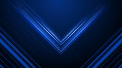 Blue intersecting lines gently pulsate and move.
