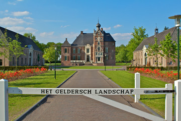 Kasteel Cannenburgh, Vaassen, front view