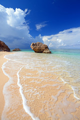 南国の島の美しい風景