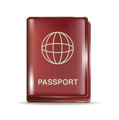 closed passport icon