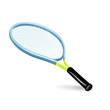single tennis racket